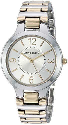 - Anne Klein Women's AK/1451SVTT Two-Tone Bracelet Watch