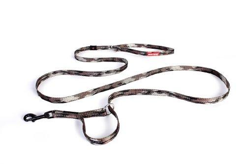 EzyDog Vario 4 Multi-Function Adjustable Dog Leash and Slip Lead (Lite, Green Camo)
