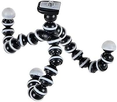 iPhone DSLR Camera Cell Phone Octopus Portable Flexible Tripod Stand Holder