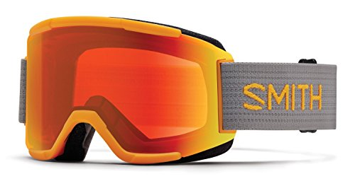 Smith Optics Mens Squad Goggles, Solar/Chromapop Everyday Yellow - OS