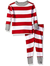 Girls' Organic 2-Piece Pajama