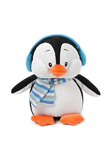 Stuffed Penguin Plush Penguin Plush Toy Christmas Toys 11 Inches White by HollyHOME (Christmas Penguin)