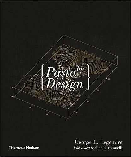 Pasta by design /anglais