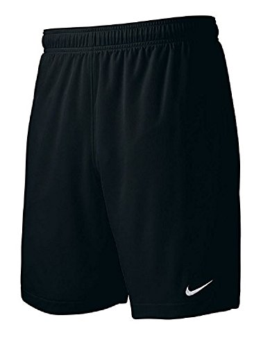 -  Nike Men's Team Equalizer Soccer Shorts, Black, Medium