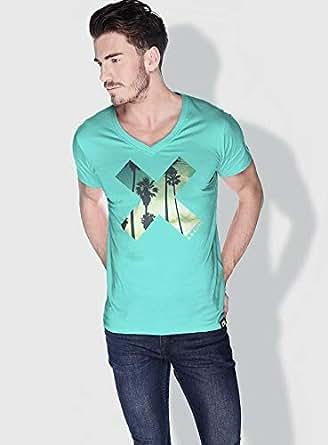 Creo La X City Love T-Shirts For Men - M, Green