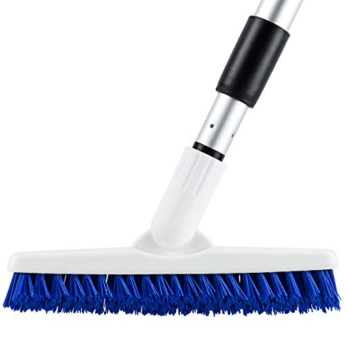 Elitra Swivel Grout Scrubber with Long Handle & Tough Bristles