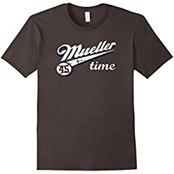 Mens Mueller Time Anti Trump 2017 Resist TShirt Medium Asphalt