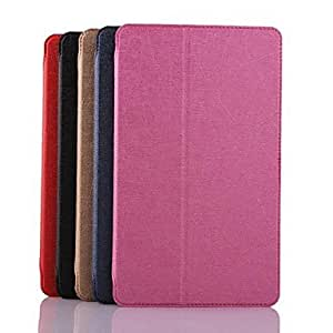 HP Lightning Lines Pattern PU Leather Full Body Case with Card Slot for Samsung Galaxy Tab S 8.4 T700 (Assorted Colors) , Black