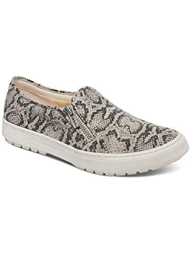 Roxy Juno - Zip Slip-on Schuhe Für Frauen ARJS300256 Black/White