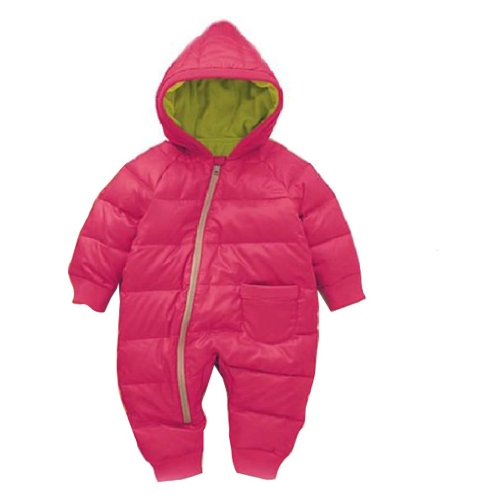 Baby Fleece Hoodie and Pants (Rose Red) - 5