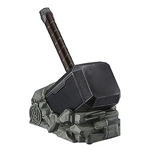 eKids Marvel Thor Hammer Wireless Bluetooth Speaker for All Smartphones and Tablets, Touch Sensitive Handle, Speaker Lights Up