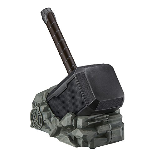 Marvel Thor Hammer Wireless Bluetooth Speaker for all Smartphones and Tablets, Touch Sensitive Handle, Speaker lights up