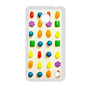 Generic Clear Back Phone Cover For Kids For Lumia 630 Print With Candy Crush Saga Choose Design 1