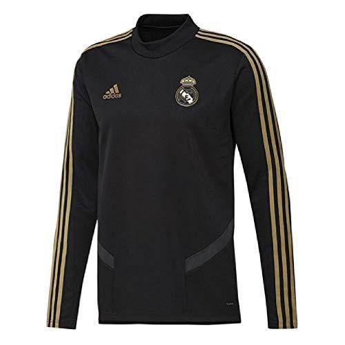 Real Madrid Training Top - adidas 2019-2020 Real Madrid Training Top (Black) - Kids