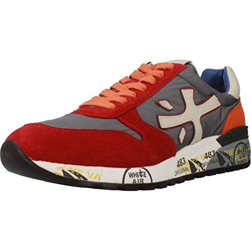 PREMIATA Calzado Deportivo Para Hombre, Color Rojo, Marca, Modelo Calzado Deportivo Para Hombre Mick Rojo