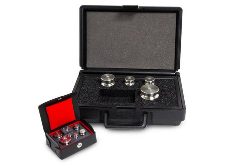Stainless Steel Class F Calibration Weight Set with Tracebale NIST Cert, 500g - (Nist Weight Sets)