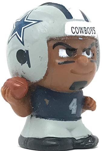 Party Animal 2018 TeenyMates Series 7 NFL Dallas Cowboys Dak Prescott Single Mini Figure Minifigure
