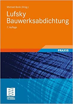 Libros Ebook Descargar Lufsky Bauwerksabdichtung Kindle A PDF