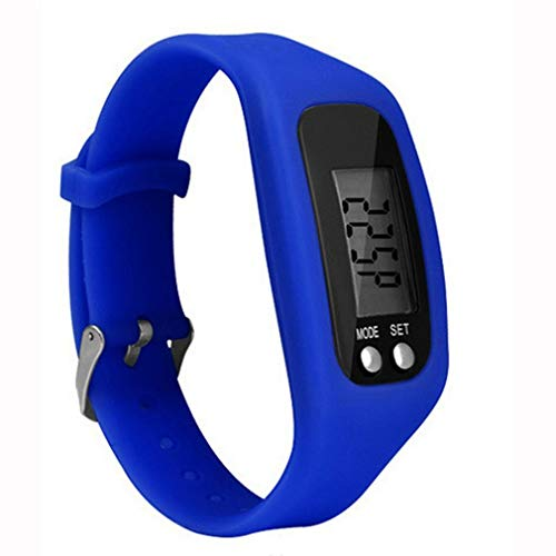 - Smart Bracelet Multi-Functional Sport Watch Bracelet Digital LCD Pedometer Run Step Walking Distance Calorie Counter Bracelet