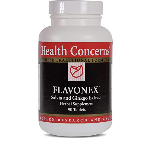Health Concerns - Flavonex - Salvia and Ginkgo Extract Herbal Supplement - 90 Tablets ()
