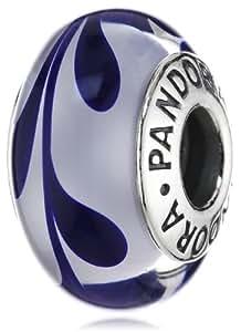 Pandora 790675 - Abalorio de plata de ley con cristal