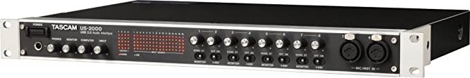 Amazon.com: TASCAM US-2000 16-in, 4-out USB 2.0 Audio Interface
