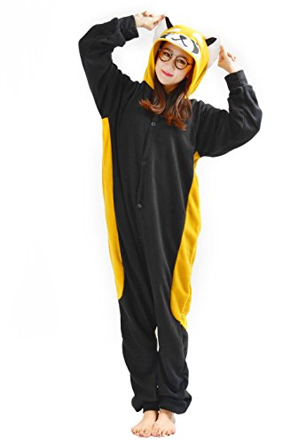SAMGU Unisex Adult Animal Pyjama Cosplay Tier Kostüm Nachtwäsche Overall Jumpsuits Bear Bear