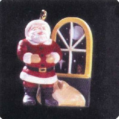 Hallmark Jolly Old Santa QXC5145 1997 Miniature Keepsake of - Old Santa Miniature Jolly