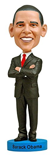 Bobble Doll Head (Royal Bobbles Barack Obama Bobblehead)