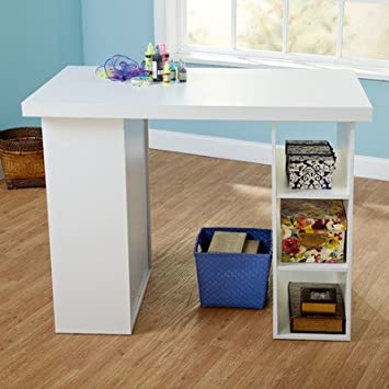 Wood Craft Table Finish: White