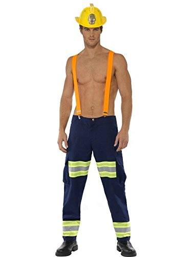 Male Firefighter Adult Costume - Medium]()
