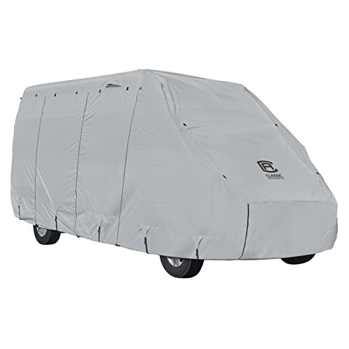 Classic Accessories Overdrive PermaPRO Deluxe Class B RV Cover, Fits 20'-23' RVs - Lightweight Ripstop Fabric with RV Cover - Accessories B