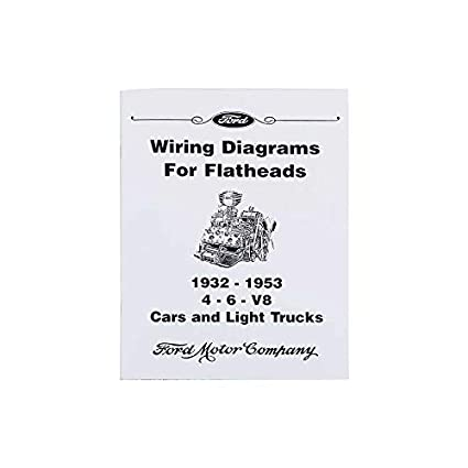 Excellent Amazon Com Macs Auto Parts 3266963 Wiring Diagrams For Flatheads 53 Wiring Digital Resources Cettecompassionincorg