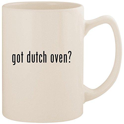 got dutch oven? - White 14oz Ceramic Statesman Coffee Mug Cup