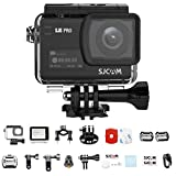 SJCAM SJ8 PRO Action Camera, 4k/60fps Sports Cam with Ambarella H22 Sensor, EIS, 170°Wide-angle Lens, 2.33' Touchscreen, 1200mAH Battery for Underwater, Outdoor Activity (Waterproof Case Included)