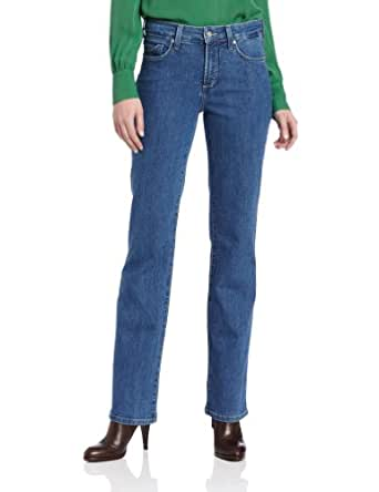 NYDJ Women's Petite Barbara Boot Cut Jeans, Monrovia Wash, 0P