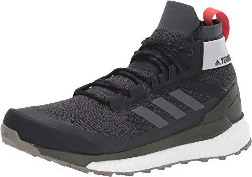 adidas outdoor Terrex Free Hiker Boot - Men's Black/Grey Six/Night Cargo, 10.0