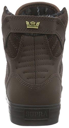 SupraSKYTOP - zapatillas deportivas altas Unisex adulto Marrón - Braun (DEMITASSE - BLACK   DEM)