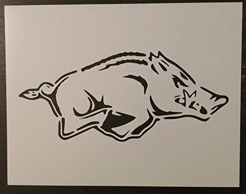 (OutletBestSelling Reusable Sturdy Arkansas Razorbacks Razor Back Razorback 11