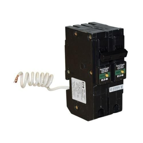 Eaton BRL215CAF Plug-In Mount Type BR Combination Arc Fault Circuit Breaker 2-Pole 15 Amp 120/240 Volt AC Fire-Guard