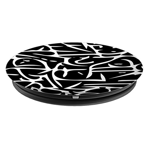 Chaotic Brain Wave Pattern - PopSockets Grip and Stand for Phones and Tablets