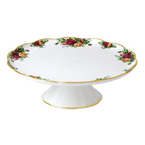 Royal Albert Old Country Roses Large Cake Stand - Royal Pottery Albert
