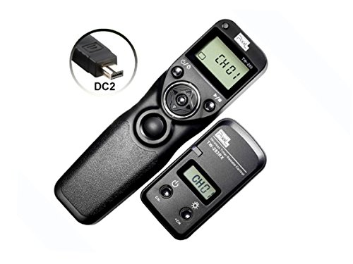 PIXEL FSK 2.4GHz Wired or Wireless Timer Shutter Remote Control for Nikon D5200 D3100 D5000 D7200 D600 D610 D750 D3200 D3300 Cameras