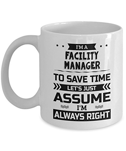 Facility Manager Mug - To Save Time Let