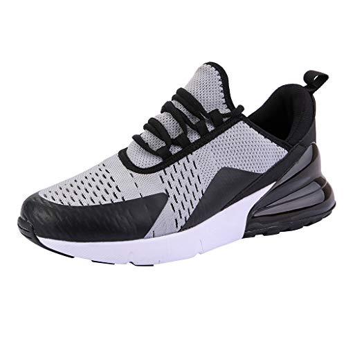 JJLIKER Mens Fashion Lightweight Tennis Walking Shoes Sport Air Fitness Gym Mesh Jogging Running Sneakers ()