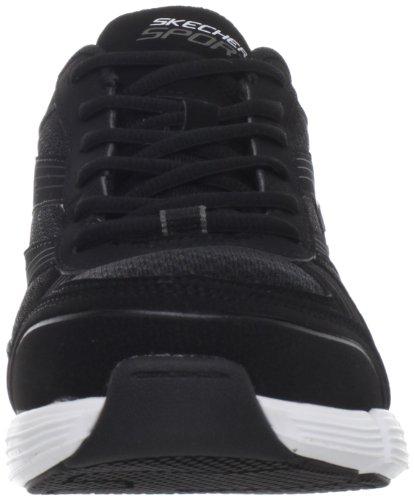 Skechers Sport Mens Stride Fashion Sneaker Black/White sRvNcI1V0