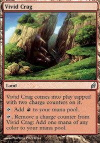 Magic: the Gathering - Vivid Crag - Lorwyn