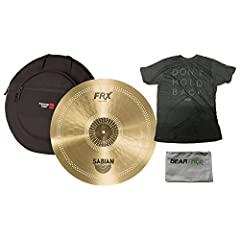 """Sabian's FRX Cymbals are the answer for the working drummer who has become frustrated by being told to """"play softer"""" at every single gig. Made from Sabian's B20 Bronze and featuring series of frequency-cutting micro-perforations placed strate..."""