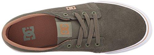 Dc Mens Trase Sd Skate Shoe Olive