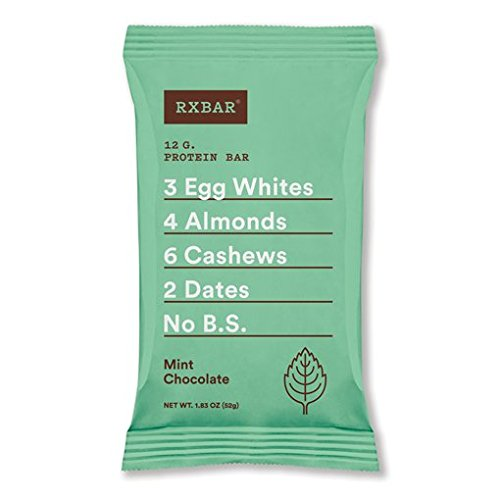 Large Product Image of RX Bar Protein Bar, Mint Chocolate 1.83oz (pack of 12)